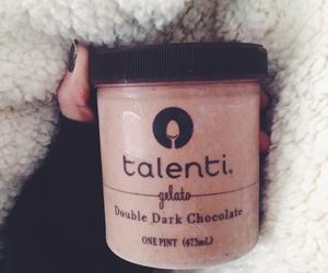 chocolate, dark chocolate, and food image