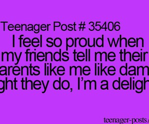 teenager post, delight, and funny image