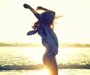 beach, dancing, and Forever Young image