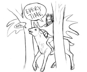 deer, fabulous, and lord of the rings image