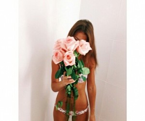 flowers, model, and cute image
