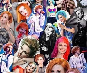 Collage, hayley williams, and paramore image