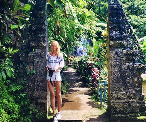 bali, travelling, and love image