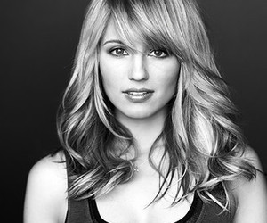 dianna agron, glee, and hair image