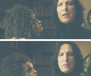 harry potter, severus snape, and bellatrix lestrange image