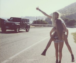 best friends, summer, and fashion image