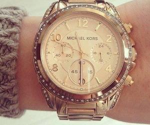 fashion, gold, and mk image