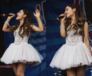 ariana grande, perfect, and dress image