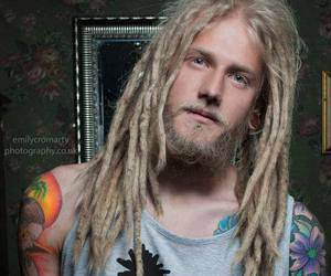 boy, dreads, and piercing image
