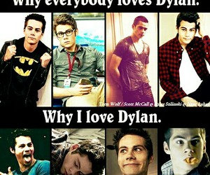 teen wolf, dylan o'brien, and dylan image