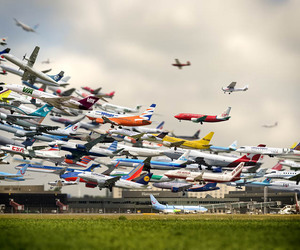 airport, clever, and photography image