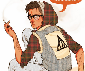 harry potter and hipster image