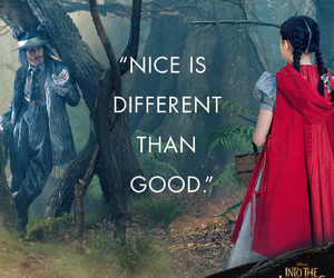 into the woods, johnny depp, and little red riding hood image