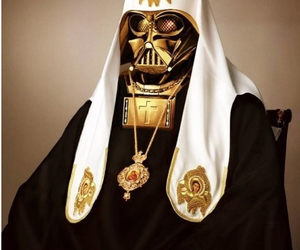 christian, star wars, and pope image