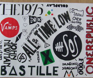 all time low, bands, and bastille image