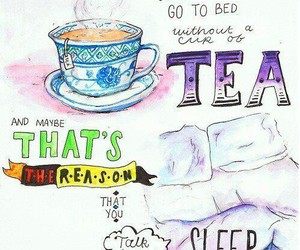 little things, tea, and love image