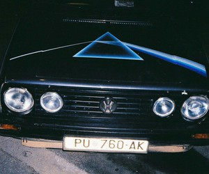 Pink Floyd and car image