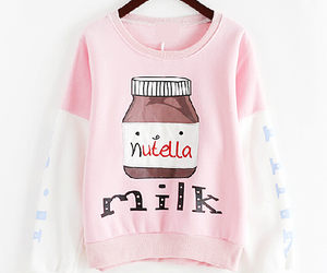 blouse, nutella, and pink image