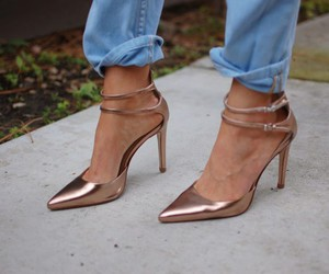 chic, fashion, and shoes image
