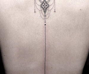 back, beautiful, and flower image