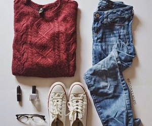 convers, fashion, and girl image