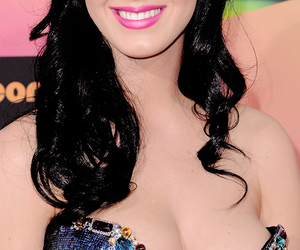 dress, smile, and katy perry image