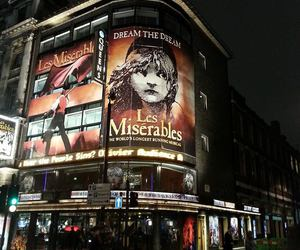 les miserables, london, and night image