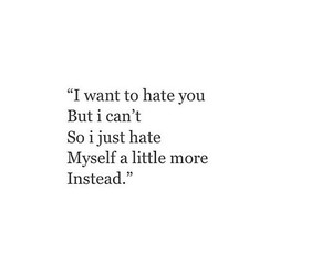 hate and quote image