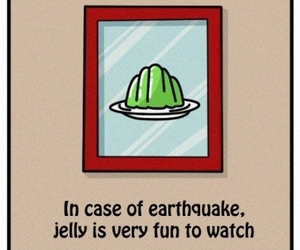 jelly, funny, and earthquake image