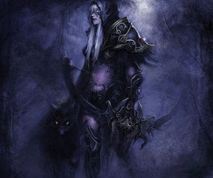world of warcraft and sylvanas image