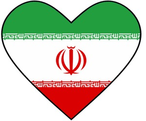 heart, iran, and ایران image