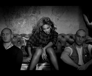 black and white, flawless, and queen b image