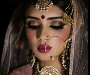 beautiful, indian, and bride image