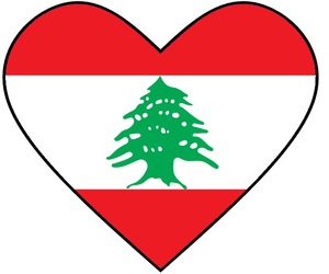 heart, lebanon, and قلب image