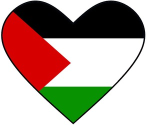 heart, palestine, and فلسطين image