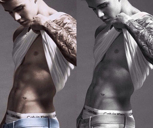 Hot, JB, and calvinklein image