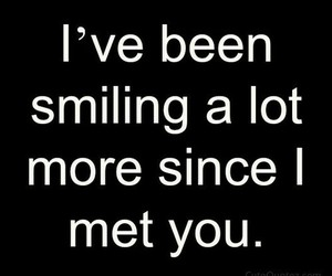 love, quote, and smiling image