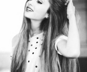 ariana grande and hair image