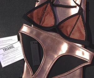 triangl, bikini, and fashion image