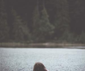 boy, water, and lake image