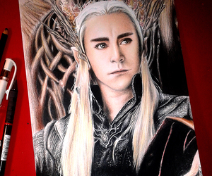 drawing, hobbit, and lord of the rings image