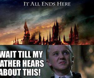 harry potter, malfoy, and it all ends image