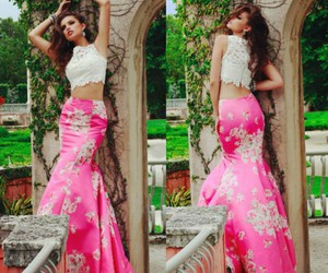 gorgeous, pink, and dress image