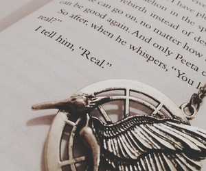 book, pretty, and the hunger games image