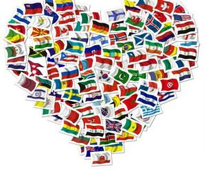 Bosnia, espanol, and flags image