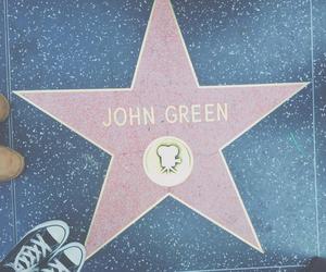john green, stars, and book image