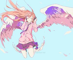 anime, angel, and kawaii image