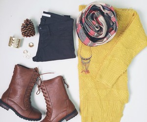 boots, inspiration, and outfit image