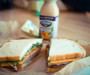 food, sandwich, and photography image