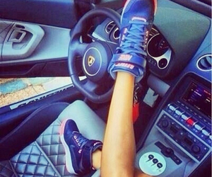 car, nike, and shoes image